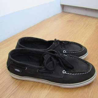 Authentic Vans Black Shoes
