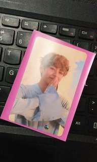 TAEHYUNG / V LOVE YOURSELF: HER O VER PHOTOCARD