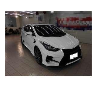 2015年    現代  Elantra EX   白   ✅0頭款 ✅免保人✅低利率✅低月付 FB搜尋:阿源 嚴選二手車/中古車買賣