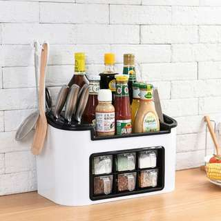 MULTIFUNCTIONAL KITCHEN CONDIMENTS RACK
