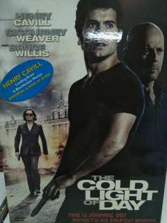 The cold light of the day movie DVD