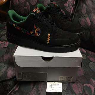 "🚚 Nike AIR FORCE 1 / One QS限量版""Urban Jungle Gym""尺寸9.5 Air Raid BHMl"