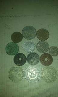 Mahar Koin uang lama thun bagedek borongan