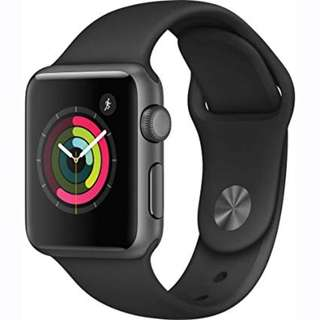 WTT used Apple Watch 1 38mm to Fitbit Versa or Garmin Vivosport