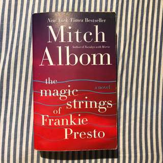 The Magic String Of Frankie Presto by Mitch Albon