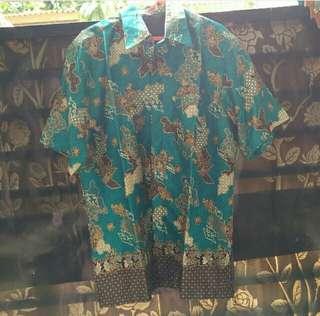 Kemeja Batik Cowo