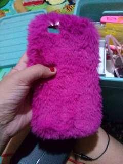 Iphone 6plus Pink Fur Case