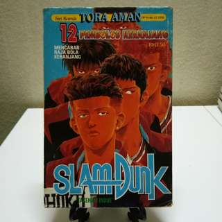 Komik Tora Aman - SlamDunk #12