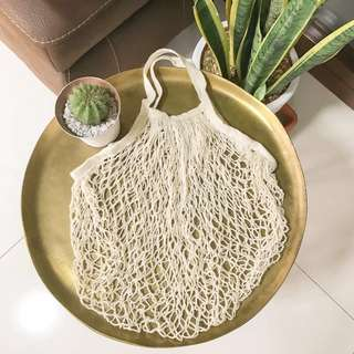 Net Bag in Cream