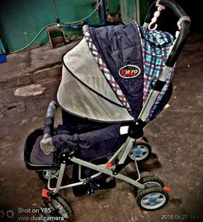 Baby stroller for sale up can, used up to 3 years old