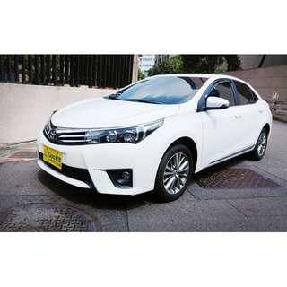 <小馬愛車>  2014 Toyota Altis 1.8 白