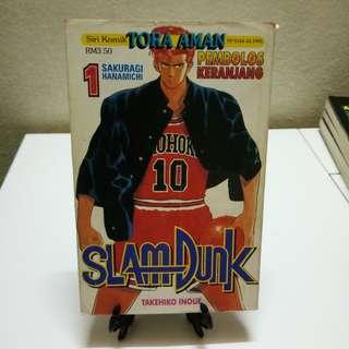 Komik Tora Aman - Slam Dunk #01