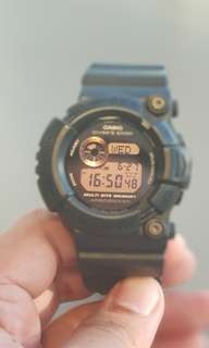 Jam Tangan G-Shock Frogman All Black 100% Original