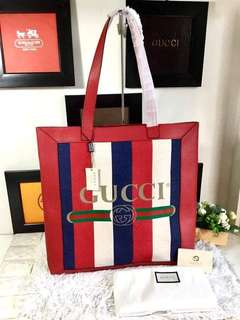 Gucci Print Medium Tote