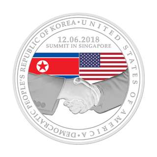 Trump-Kim Summit World Peace Limited Edition Collectible