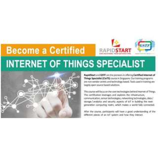 Certified Internet of Things Specialist (CIoTS)