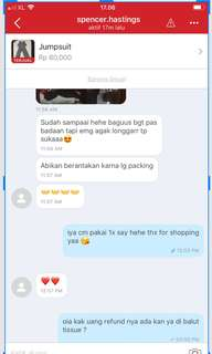 Testi lagi from my cust lovely
