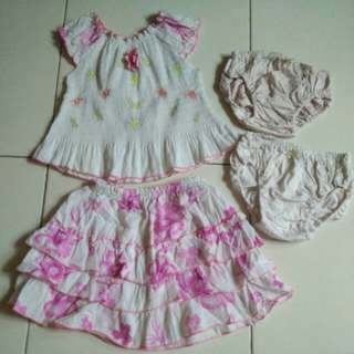 Baby Dress one set