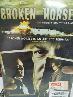 Broken horses movie DVD