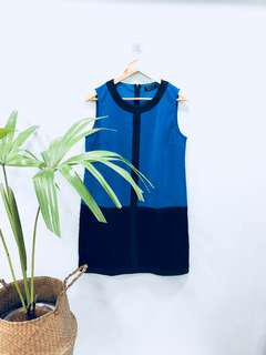 Ezra Colorblock Shift Dress - Preloved, Excellent Condition