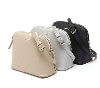 Bershka saffiano crossbody bag
