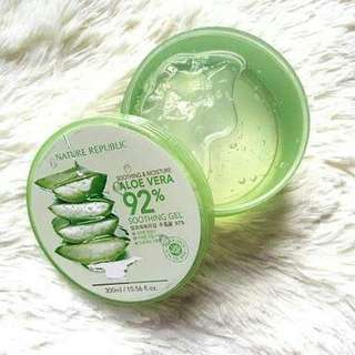 #lsprcampus Aloe vera nature republic original