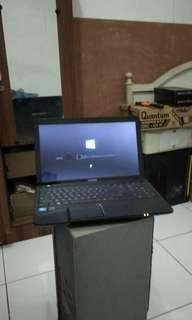 Laptop Toshiba C850 murah saja BU