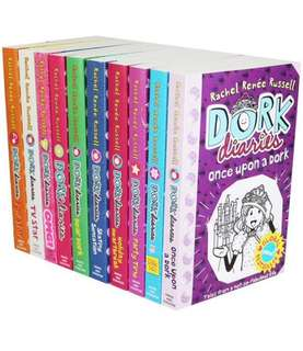 New ~ Dork Diaries 10 books collection