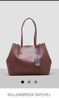 BNEW Authentic Willowbrook Satchel