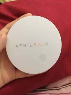 April Skin White Snow BB Cushion