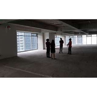 For Lease Rent One Park Drive BGC Fort Office Space 127 sqm Bare Unit ₱ 1,000