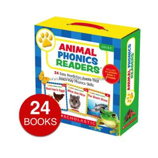 ANIMAL PHONICS READERS COLLECTION (24 BOOKS)
