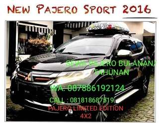 SEWA NEW PAJERO 2016 LIMITED EDITION