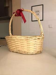 NEW Rattan Basket