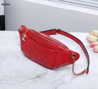 Tas Chanel Waist Bag R2021 Semi Premium