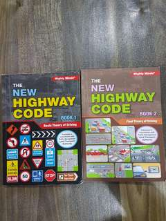 BTT & FTT Highway code Books