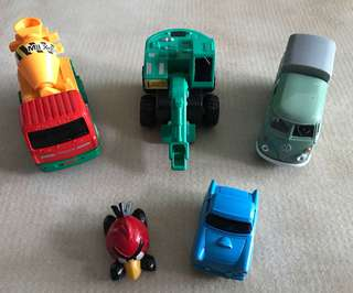 Bundle of 5 (Toy Cars)