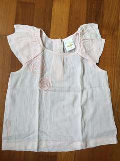 Trudy & Teddy 2T Petal pink blouse