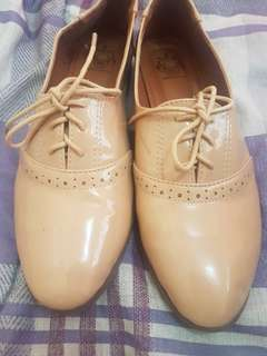 Shoes Nude Oxford