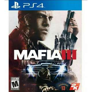 PS4 Mafia 3 Rall