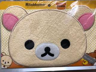 鬆弛熊cushion頭型手巾