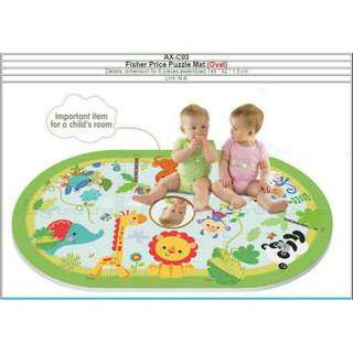 🚚 fisher price oval puzzle mat
