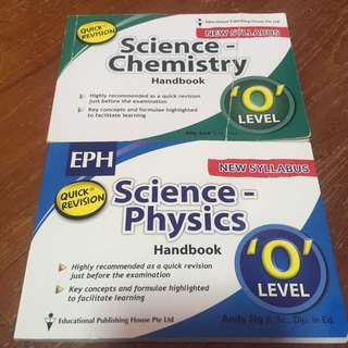 🚚 O Levels Science Quick Revision Handbook