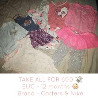 Take All for Baby Girl Onesie & Dress