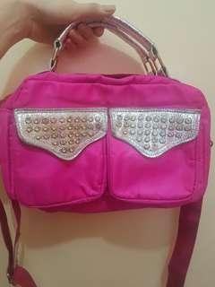 Hot Pink sling bag