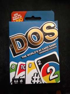 DOS - playing cards