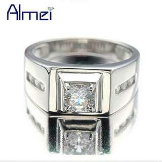 Men's Ring Diamond Steel Man Fashion Rings