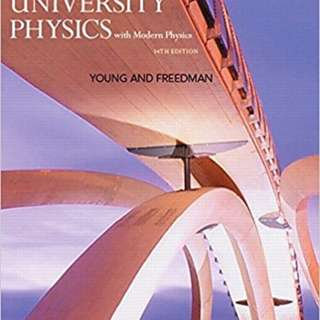 University Physics Young and Freedman 14th Edition