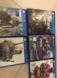 Selling my ps4 games
