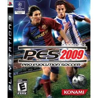 PS3 Pro Evolution Soccer (PES) 2009 R1